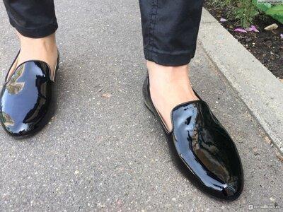 Стильные туфли балетки слиперы лоферы