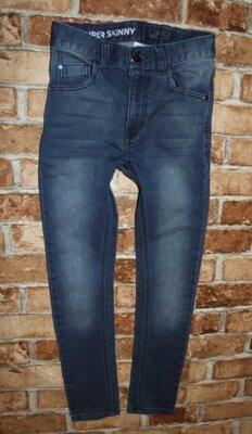 узкачи стрейч джинсы мальчику 11 лет NExt