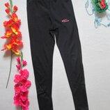 Суперовые базовые черные спортивные лосины леггинсы вставка сетка Simart Турция.