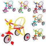 Трехколесный детский велосипед Гномик разные цвета