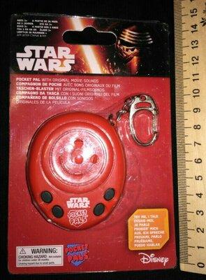 Брелок Pocket pals star wars зведные войны озвучен Disney