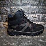 Зимние тёплые ботинки в спортивном стиле кроссовки