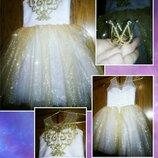Платье корона - шикарный наряд для принцессы