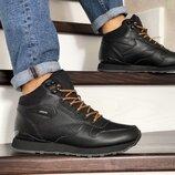 Зимние высокие кроссовки Reebok black 8761