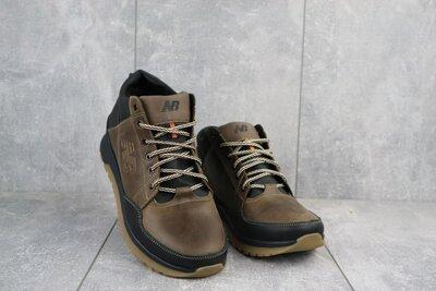 Мужские зимние кроссовки из натуральной кожи