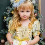 Костюм принцессы для малышки рост 98-110 Прокат