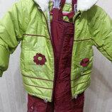 Зимний супер тёплый комбинезон для девочки фирмы JMIR Польша Распродажа