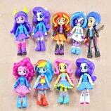 Набор кукол 9в1 Литл Пони Девочки из Эквестрии , 13 см - My Little Pony Equestria Girls Minis Scho