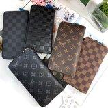Мужской кожаный кошелёк портмоне Zippy Louis Vuitton