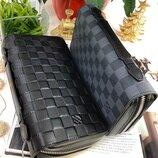 Мужской кожаный кошелёк портмоне Zippy XL Louis Vuitton