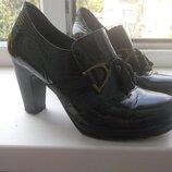 Брендові туфлі жіночі мешти Jose Saenz 36 Іспанія 23,6 см ботильоны женские кожаные