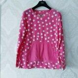 Размер М Яркая фирменная флисовая пижамная домашняя кофта