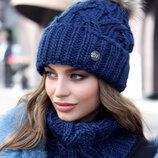 Комплект Энеис шапка и шарф-хомут , 4638-7