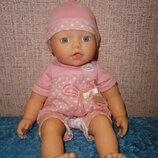 Кукла пупс Беби Борн Веселое купание my little Baby Born Zapf Creation 33 см
