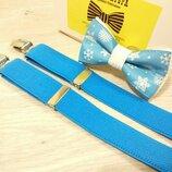 Нарядный галстук бабочка . Новогодний галстук бабочка. Метелик святковий.