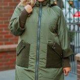 Куртка зима супер батал Размеры 52-54,56-58,60-62,64-66.