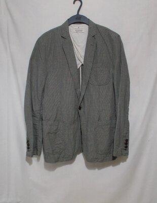 Новый неформальный мятый пиджак лен-хлопок Scotch&Soda 48р