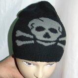 Стильная фирменная зимняя шапочка шапка бренд .George Джорж .7-12 лет