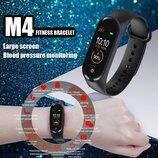 Фитнес браслет М4. Цветной экран. Пульс, давление, уведомления звонков/смс. Реплика
