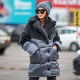 Зимняя куртка 42-46,48-52р. 5 расцветок