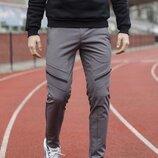 Зимние мужские штаны Soft Shell San Andreas серые