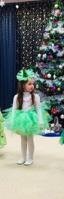 Обруч елка, ялинка, новогодний обруч, ободок