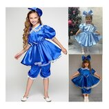 Новогодний костюм Мальвина 2 цвета, 2 размера на 3-10 лет.