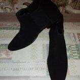 Ботинки кожаные новые деми Asos 31 см