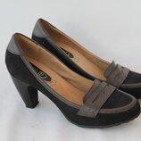 Туфли, р.40-41 26.5 см . Для широкой стопы