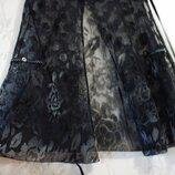 Блуза Пог 54 см накидка прозрачная нарядная женская