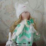 Интерьерные стильные куклы