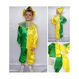 Новогодний костюм Скоморох Петрушка 2 размера на 3-7 лет.