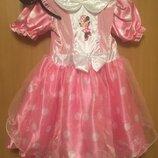 Карнавальное платье костюм минни маус