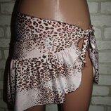 красивая пляжная юбка р-р S-M