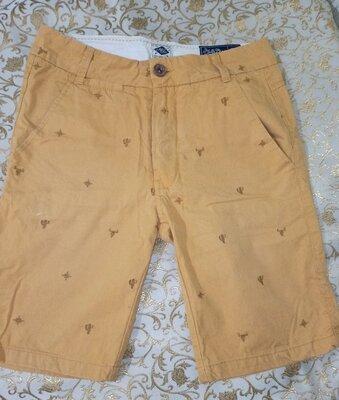 Котоновые мужские фирменные шорты mills bros