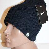 Удлиненная качественная шапка на флисе 54-60р