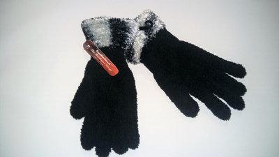 Женские теплые перчатки