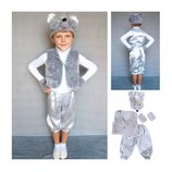 Новогодний костюм Мышонок Мыша 2 размера на 3-10 лет для мальчика.