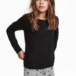 Шерстяная кофта для девочки H&M Швеция Размер 8-10 лет 134/140 размер