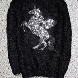 Свитшот травка джемпер свитер единорог