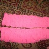 гетры ярко розовые