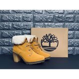 Женские ботинки натуральная кожа/овчина распродажа последних размеров -70%