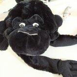 Черная обезьянка новогодний карнавальный костюм шапка обезьяна театр