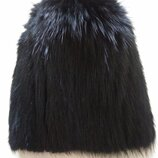 шапка мех натуральный мех ондатра