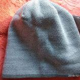 мужская зимняя шапка размер 54-57