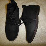 Стильные кожаные туфли ботинки броги River Island р. 32 20 см