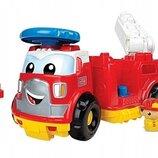 шикарная Пожарная Машина Фрэдди конструктор First Builders Mega Bloks Канада оригинал