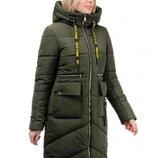 Пальто Куртка 44-50 длинная Зима, от производителя Цвета, много фото