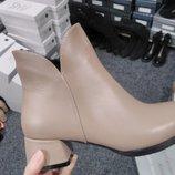 Распродажа Шикарные ботильоны кожаные ботинки 36-41р Новая коллекция
