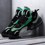 Бесплатная доставка. Как оригинал. Кроссовки Nike Air Max 95 Sneakerboot черно-зеленые KS 1326